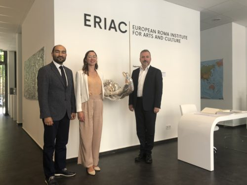New Federal Government Commissioner for Matters Related to Ethnic German Resettlers and National Minorities, Dr. Bernd Fabritius, visits ERIAC
