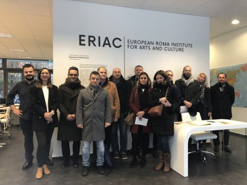 Arts and Culture and Remembrance. A Croatian delegation visits ERIAC