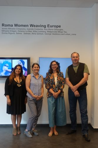 Filiz Polat and Erhard Grundl, Bundestag MPs (Greens), visit ERIAC
