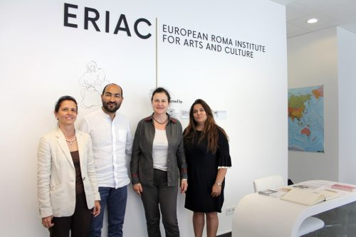 Katarína Mathernová, Deputy Director General at DG NEAR visits ERIAC