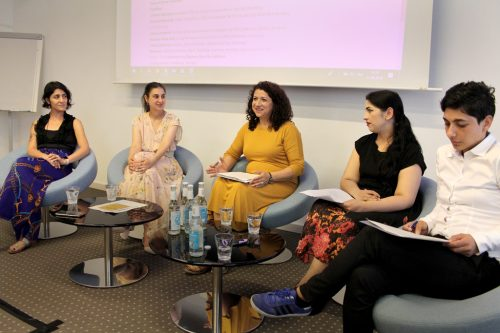 A Feminist Reading of Roma Political Movement: A conversation with Roma women activists, scholars and artists