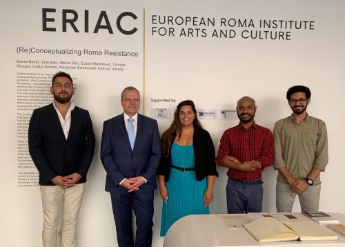 Dr. Michael Groß, Consul General of Germany in Krakow, visits ERIAC