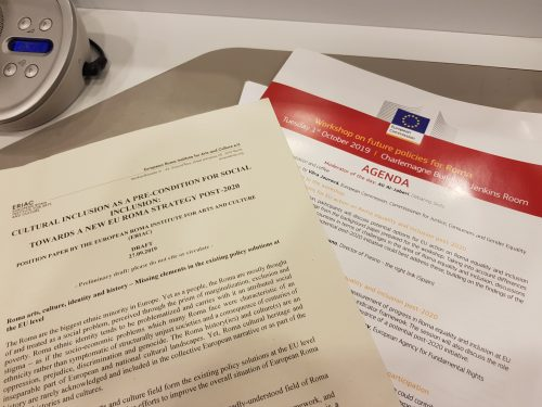 ERIAC joins EC consultations about the future of Roma policies for Roma