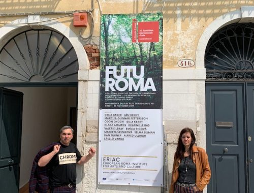 CHROMA – THE FUTURE IS ROMA – WE PASS THE MIC TO EUROPE