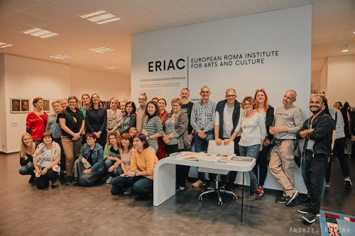 Teachers from the Academy of Anti-Discrimination Education visit ERIAC