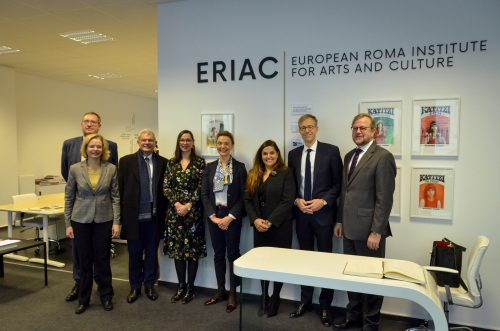 Secretary General of the Council of Europe Marija Pejčinović Burić visited ERIAC