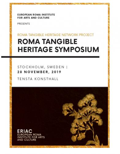 Roma Tangible Heritage Symposium – Stockholm