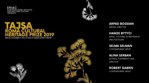 Finalists of the Tajsa Roma Cultural Heritage Prize 2019 announced!