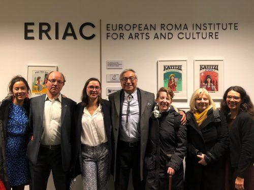 TMU Delegation visits ERIAC