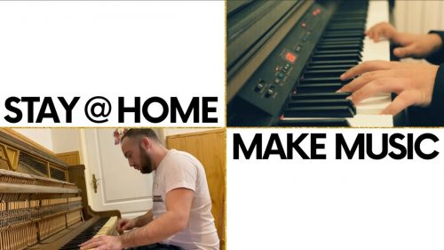 """Stay at home & Make Music"" Online Family Music Competition"