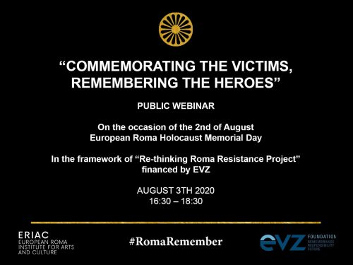 "Webinar: ""Commemorating the Victims, Remembering the Heroes"""