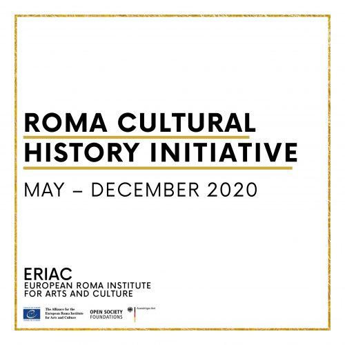 Roma Cultural History Initiative – updates