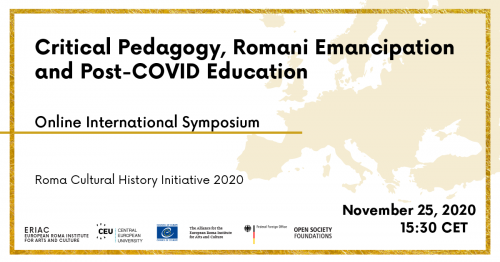 Critical Pedagogy, Romani Emancipation and Post-COVID Education