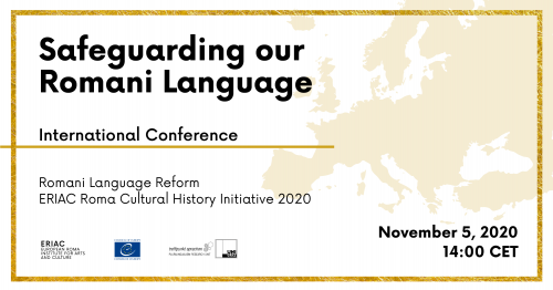 Safeguarding our Romani Language – International Conference