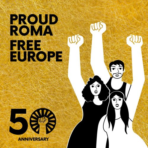 ERIAC develops visual identity for the 50th Anniversary of the First World Roma Congress