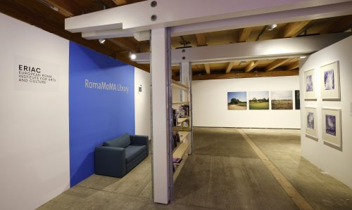RomaMoMA Nomadic Library as A Roma Contribution for Europe